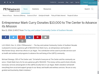 http://www.prnewswire.com/news-releases/entrepreneur-mark-curry-donates-10000-to-the-center-to-advance-its-mission-282305611.html