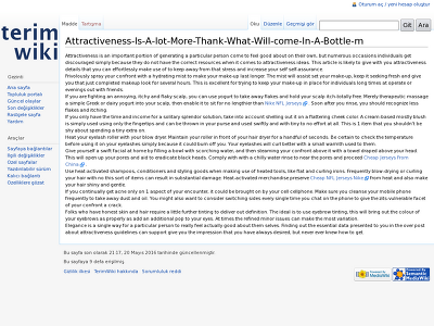 http://terimwiki.com/index.php?title=Attractiveness-Is-A-lot-More-Thank-What-Will-come-In-A-Bottle-m