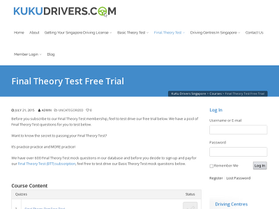 http://www.kukudrivers.com/courses/final-theory-test-ftt-free-trial/