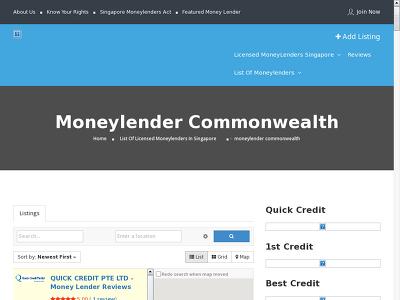 http://www.moneylenderreview.com.sg/list-of-moneylenders/categories/moneylender-commonwealth