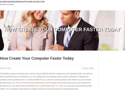 http://aldridge19gregersen.affiliatblogger.com/4320946/how-create-your-computer-faster-today
