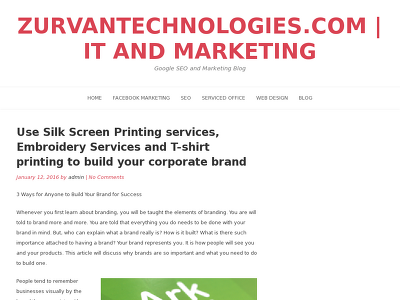 http://zurvantechnologies.com/use-silk-screen-printing-services-embroidery-services-and-t-shirt-printing-to-build-your-corporate-brand/