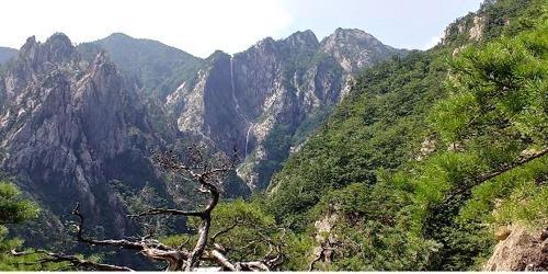 한국 최고 비경이라는 설악산 토왕성 폭포
