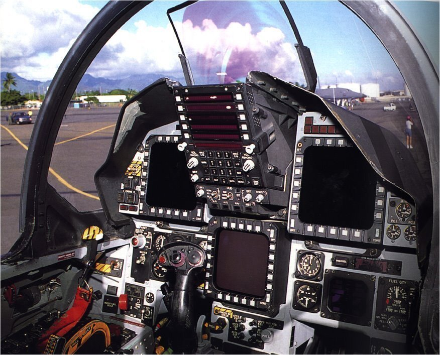 F15  Cockpit View With The Devil