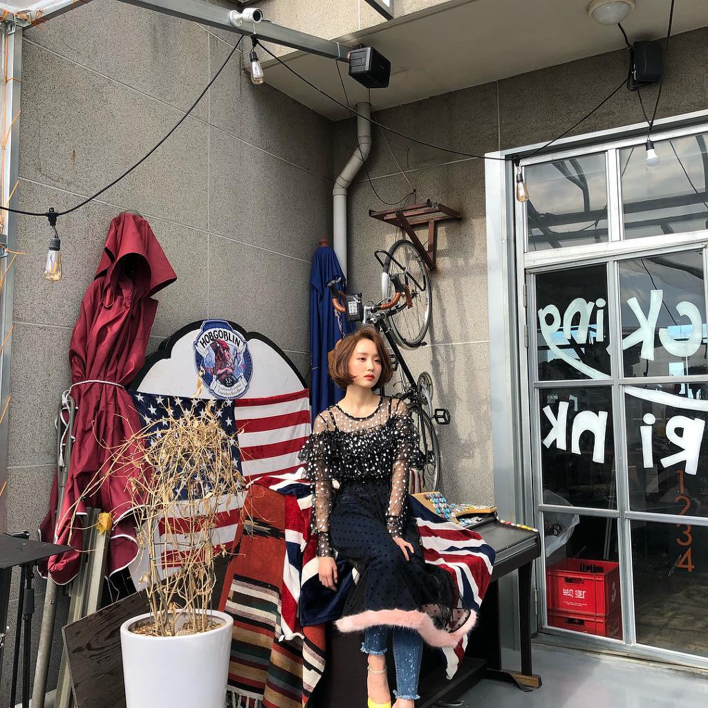 [연예] 화보 촬영하는 윤태진 -  와이드섬