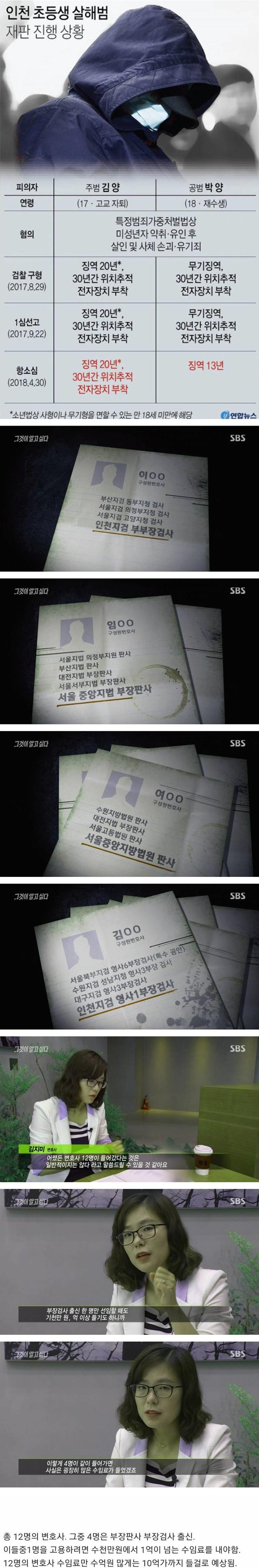 인천 초등생 살인범 근황