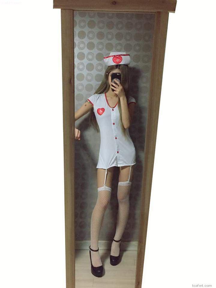 간호사 코스프레녀3