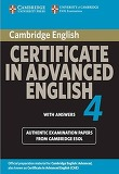 Cambridge Certificate in Advanced English 4 : Student's Book with Answers (Paperback / 1st Ed.)