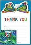 Eric Carle Birthday Thank-yous (Paperback / Cards)