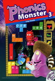 Phonics Monster 3 : Student Book (Paperback + Hybrid CD:2 +Readers:1)