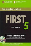 Cambridge English First 5 Self-study Pack (student's Book wi