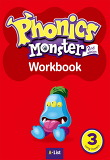 Phonics Monster. 3: Long Vowels(Workbook)