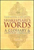 Shakespeare's Words: A Glossary and Language Companion (Paperback)