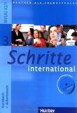SCHRITTE INTERNATIONAL 3: DEUTSCH ALS FREMDSPRACHE KURSBUCH + ARBEITSBUCH MIT AUDIO-CD ZUM ARBEITSB