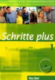 Schritte plus 1 Niveau A1/1. Kursbuch + Arbeitsbuch mit Audio-CD zum Arbeitsbuch
