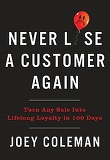 Never Lose a Customer Again (Hardcover)
