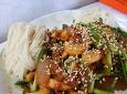 맛있게 매운맛을 뽑내는 오징어부추덮밥!!!