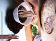 집에서 먹는 모밀국수<전자렌지에서 일본식 쯔유만들기>