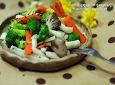 5분완성 다이어트식 /버섯브로콜리무침