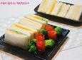 채소만 넣어도 맛있다! 든든한 한끼,삼색샌드위치