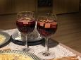 연말파티용 달콤한 와인 샹그리아