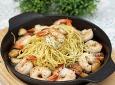 간단한데 너무 맛있어! 새우 스파게티 만들기