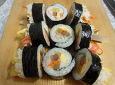 입에 살살 녹는 끄트머리 김밥이 맛있는 이유?