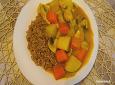 칼로리를 낮춘 닭 가슴살 현미 카레라이스