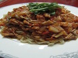 라파게티 - 라면사리가 토마토소스에 풍덩