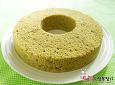 밥통으로 만든 싱그러운 녹차 쉬폰케이크