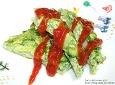 자투리 야채의 건강한 변신! 바다향이 듬뿍나는 매생이 프리타타