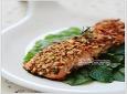 안티에이징 캠핑요리~ Crusted Salmon *^^*