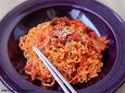 김치비빔라면-맛있는 라면 요리..