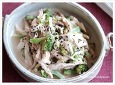 참깨소스에 버무린 닭가슴살샐러드 만드는법, 닭가슴살요리