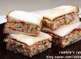 간단한 샌드위치 만들기 예쁘고 맛있게