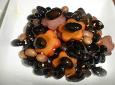 아프지 말자 .블랙푸드.검은콩조림 두부조림 .섬김밥상