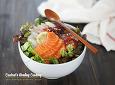 싱싱한 회와 상큼한 채소의 맛깔난 어울림~!! 주말 별미 회덮밥