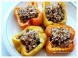 밥을 넣은 파프리카구이 ~ 별미밥으로 좋은 파프리카요리