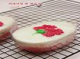 ♥ 5월의 선물로 적당한 카네이션 떡 케이크