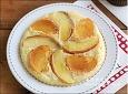 과일 팬케이크~사과와 단감을 넣은 핫케이크가루 요리