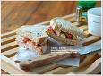 채소편식하는 이들을위한 콜리플라워소스 식빵와플 샌드위치