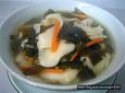 맛집에서도 찾아볼수 없는 물미역 된장 수제비