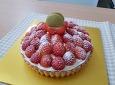 딸기와 생크림 듬뿍...딸기타르트