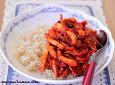 오징어덮밥-한국인이 좋아하는 한그릇밥..