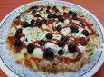 밀가루 없이 감자로 쉽게 만들어요~~블루베리 피자