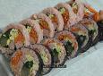 가을빛 닮은 색 고은 김밥
