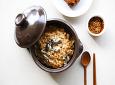황해도식 김치 활용법, 굴김치밥