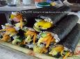 가족들과 봄나들이를 위한 도시락....김밥