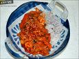 오랜만에 맛보는 별미, 오징어덮밥