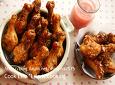 튀기지 않은 찹쌀 닭봉강정
